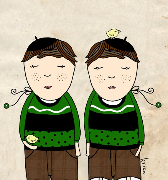 Homens de Gêmeos