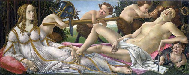 Venus_and_Mars_Sandro Botticelli