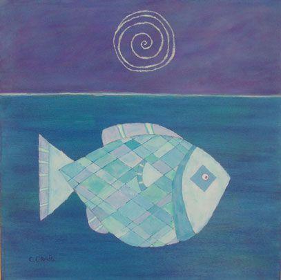 lua em peixes
